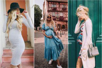 Pozajmite ideje za trudnički stil od američke blogerke