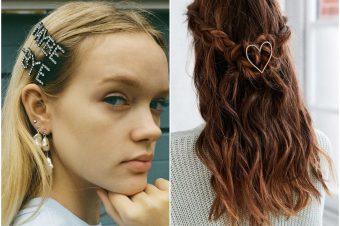 Najlepše frizure ove zime ukrašene su ukosnicama