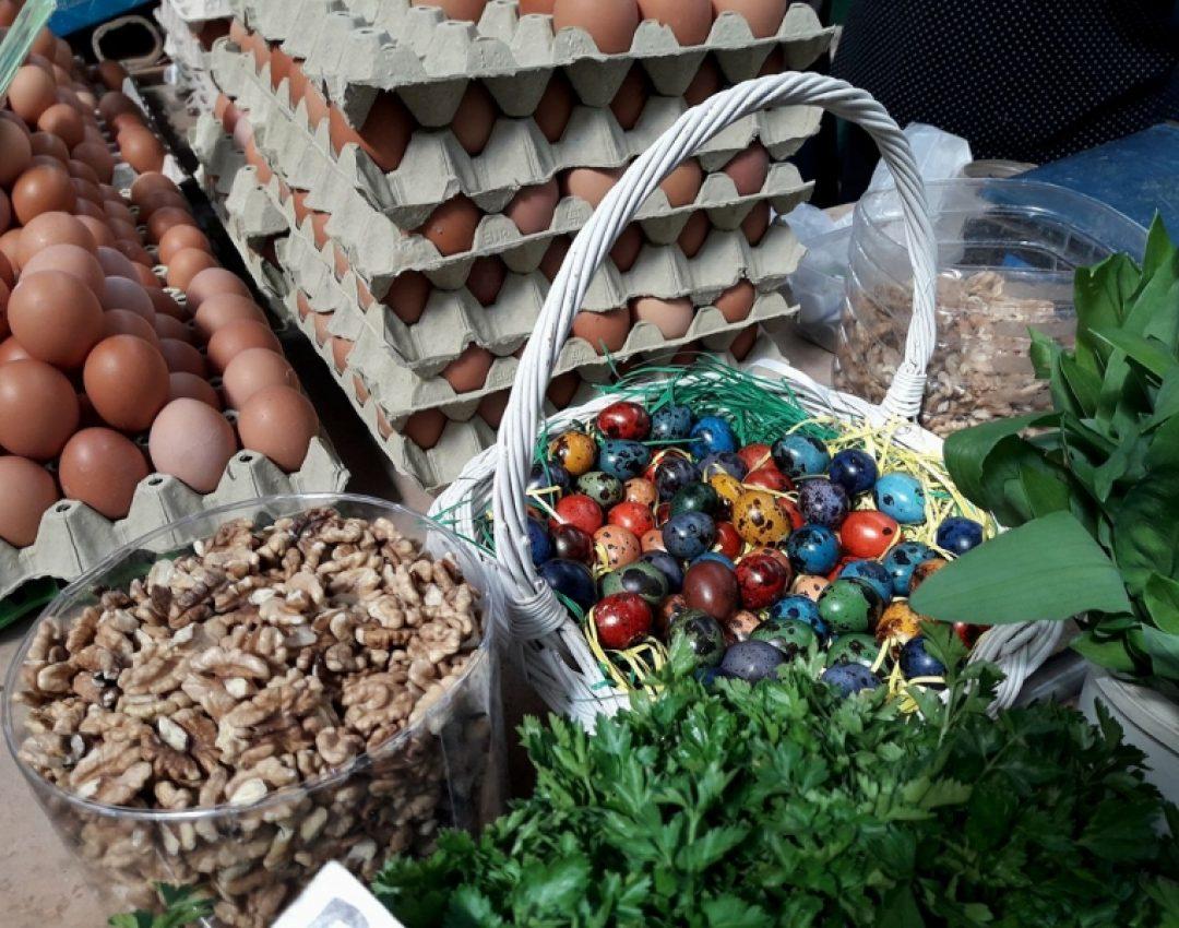 Besplatna uskršnja jaja na beogradskim pijacama