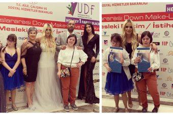 Devojčice sa Daunovim sindromom predstavnice Crne Gore osvojile prvo mesto na make up takmičenju u Istanbulu