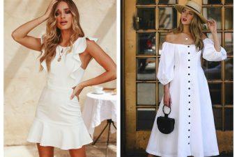 Leto je u znaku belih haljina