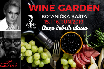 Posetite prvi Wine Garden u Botaničkoj bašti