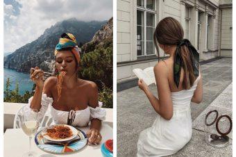 Kako da nosite maramu u kosi ovog leta
