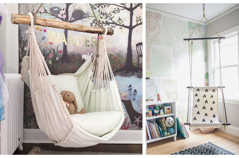 Ljuljaška: jedan od najpopularnijih dekora dečijih soba