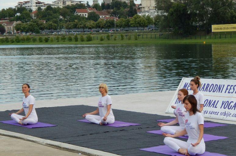 X Međunarodni festival joge na Adi Ciganliji