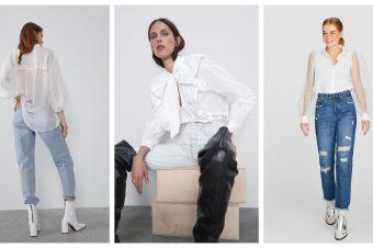 Najlepše bele bluze iz high street prodavnica