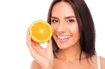 Voćni piling za čišćenje kože