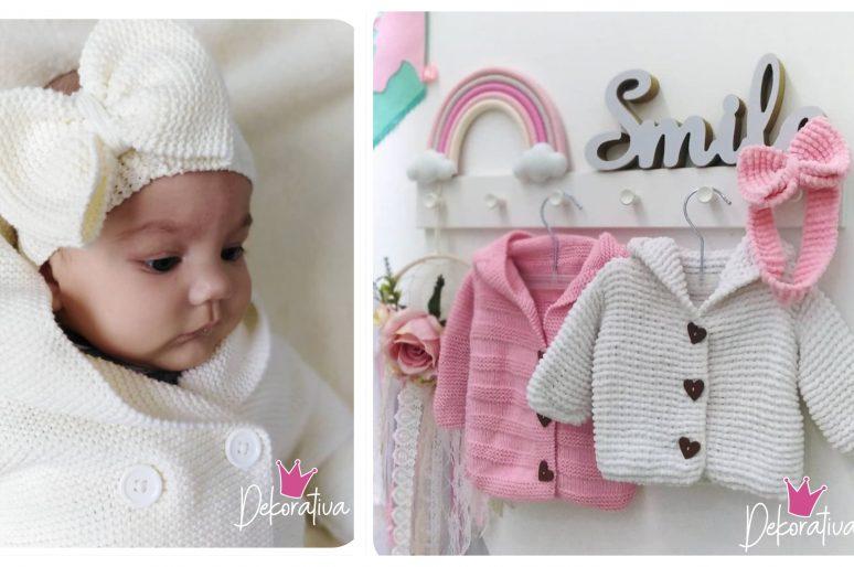 Dekorativa – Čarobni pleteni komadi za bebe