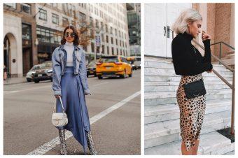 Kako blogerke nose suknje ove sezone