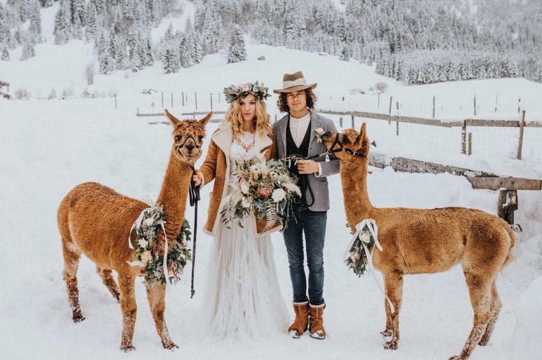 Savršeno zimsko venčanje