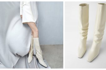 Bele čizme iz high street prodavnica