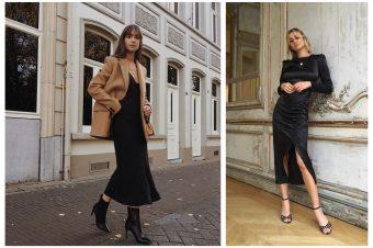 Crna midi haljina – odraz sofisticiranosti i ženstvenosti
