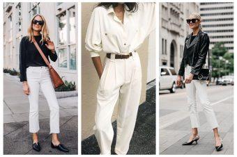 Bele pantalone – obavezan komad za kreiranje savršenih prolećnih autfita