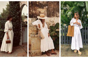 Dugačka bela haljina – nezaobilazan komad vrelih letnjih dana