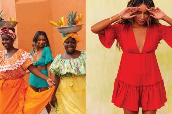 Kako blogerka Džuli Sarinana nosi boje ove sezone