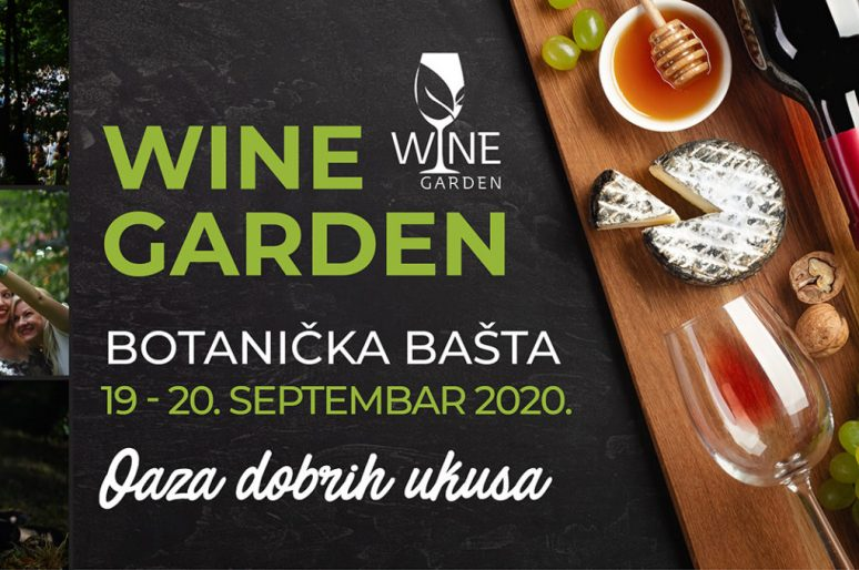 Ovog vikenda Botanička bašta postaje Wine Garden