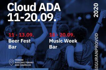 """Cloud Ada"" – nova manifestacija u Beogradu"