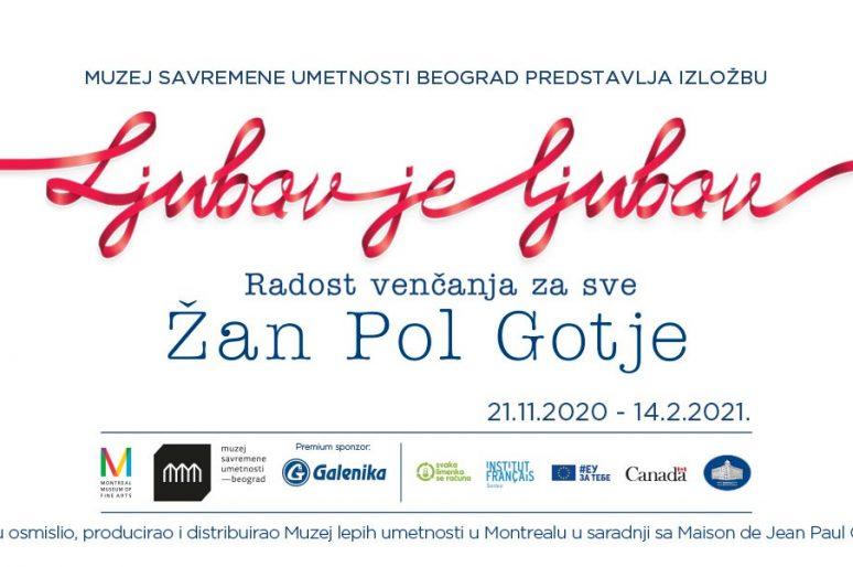 """Evropska premijera izložbe """"Ljubav je ljubav: radost venčanja za sve"""" Žan Pol Gotjea u Muzeju savremene umetnosti"""