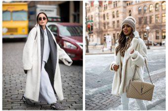 Kako da nosite beli kaput ove zime