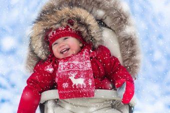 Kako bebe zimi izvoditi napolje
