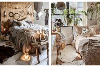 20 predloga za uređenje spavaće sobe u boho stilu