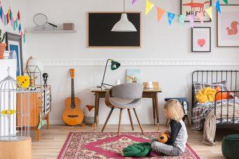 Kako da dekorišete zid u dečijoj sobi